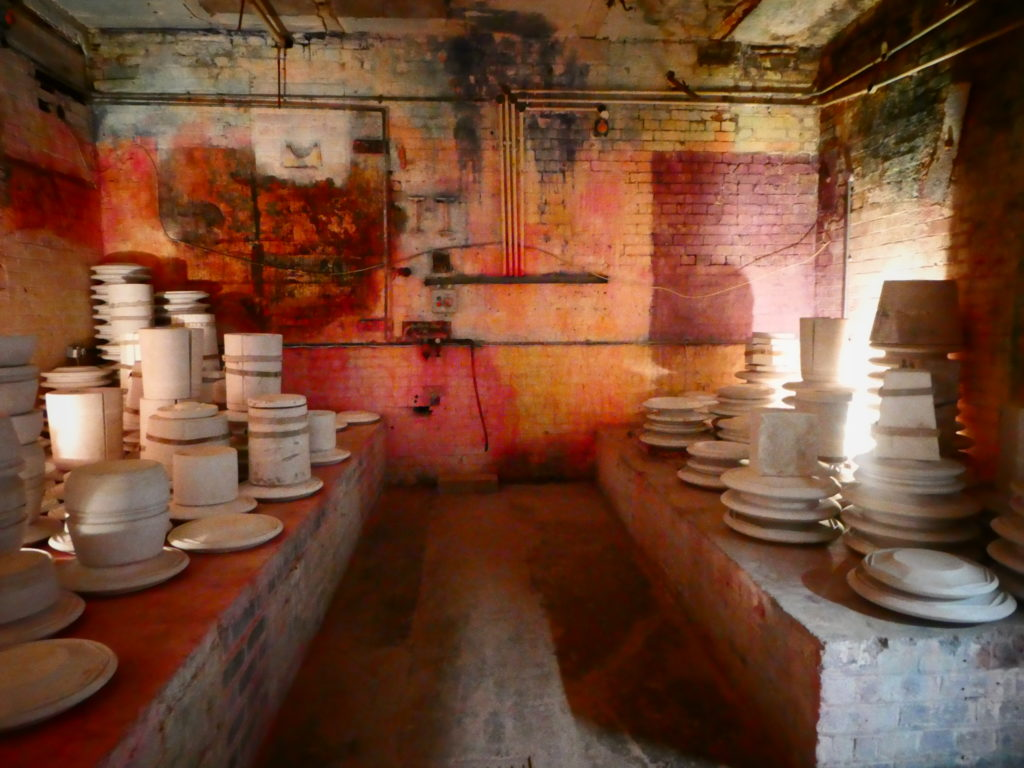 British Ceramics Biennial 2017 Stoke-on-Trent China Hall Spode Factory