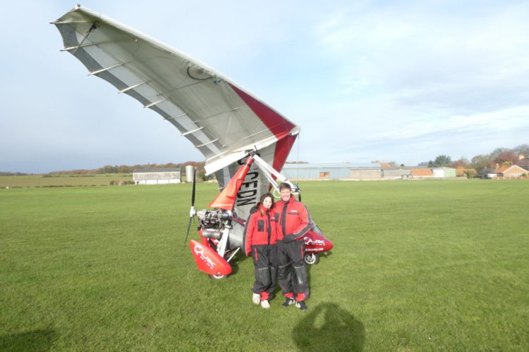 Microlight Flight Lesson Worksop