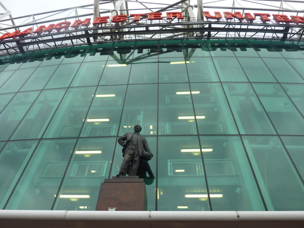 Manchester England - Manchester United Old Trafford