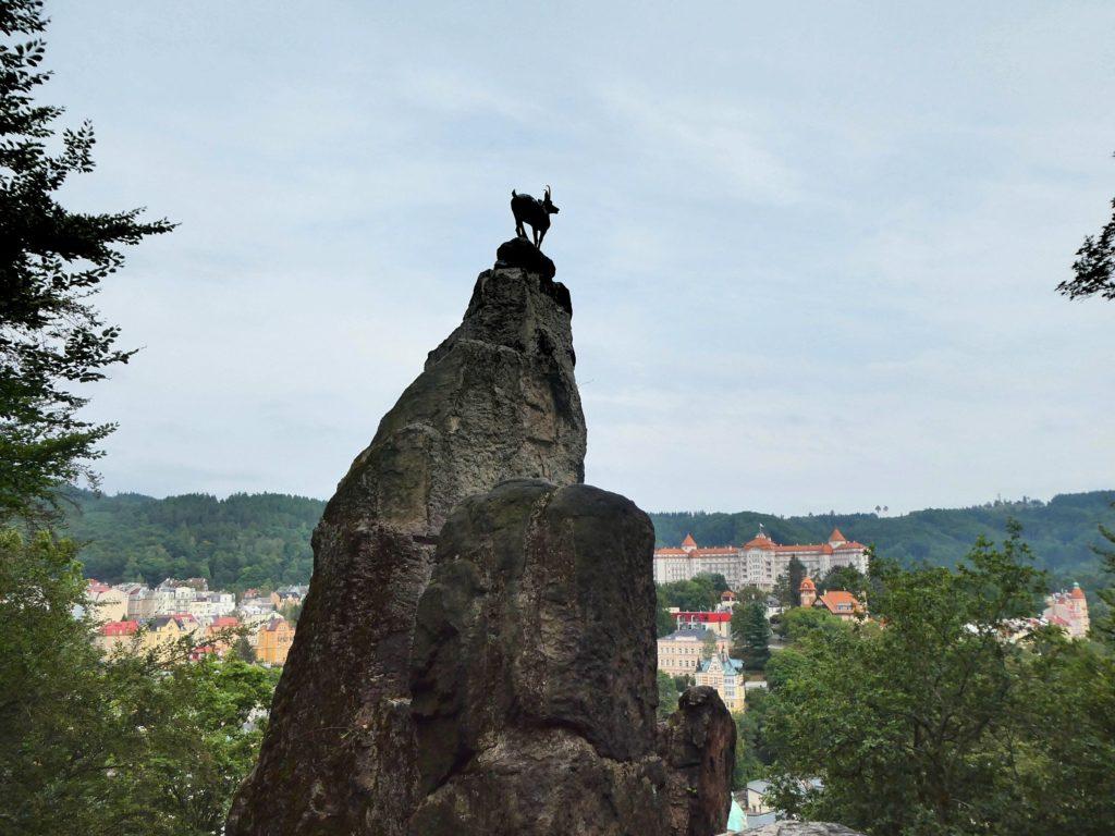 Karlovy Vary Czech Republic - Deer Leap Lookout