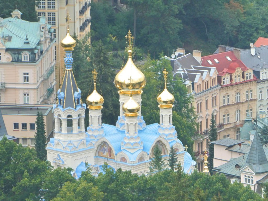Karlovy Vary Czech Republic - Church of St. Peter and St. Paul