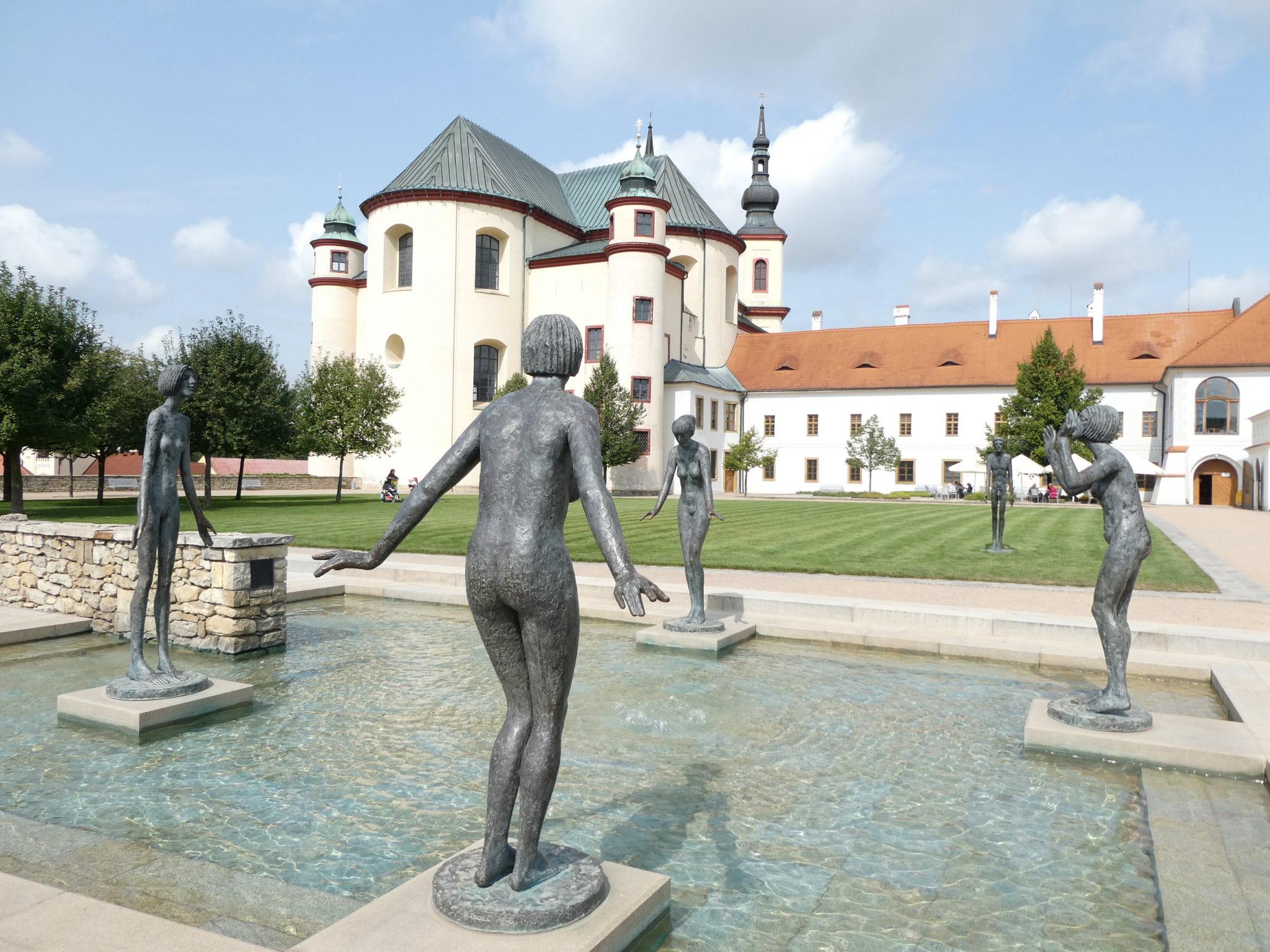 Litomysl Czech Republic - Monastery Gardens