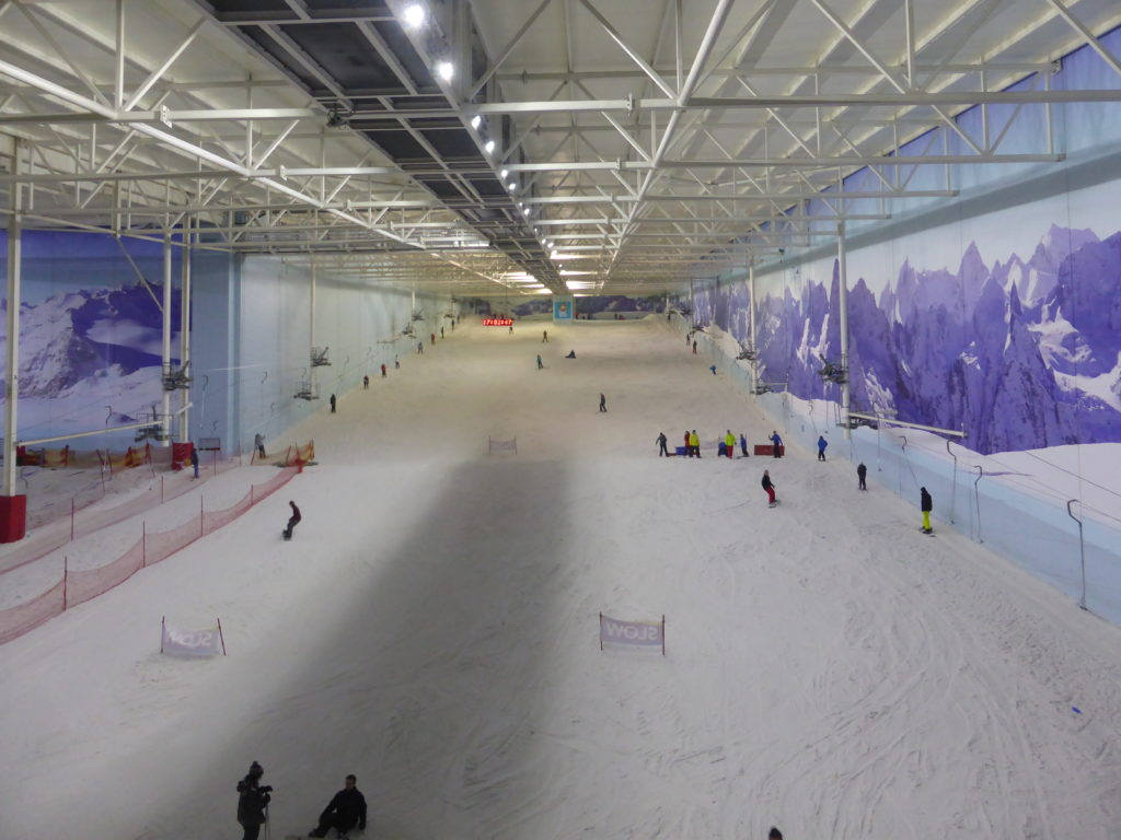 Manchester England - Chill Factore