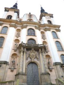 Olomouc Czech Republic - Church of Our Lady of the Snows