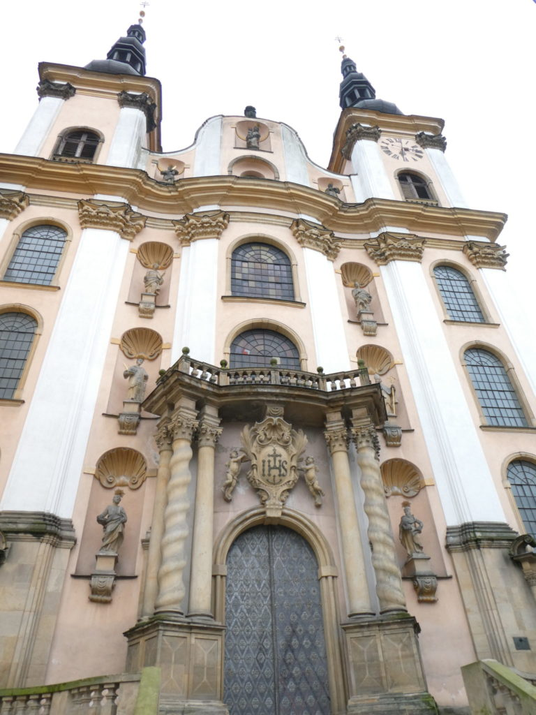 Olomouc Czech Republic - Church of Our Lady of the Snows
