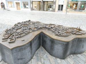 Olomouc Czech Republic - Bronze Scale Model