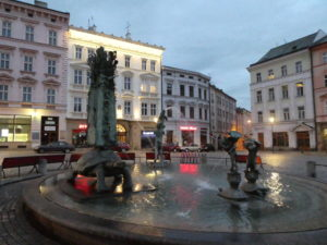 Olomouc Czech Republic - Fountain