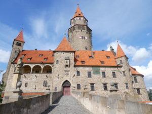 Olomouc Czech Republic - Bouzov Castle