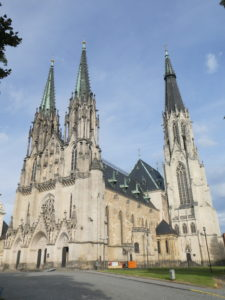 Olomouc Czech Republic - St. Wenceslas Cathedral