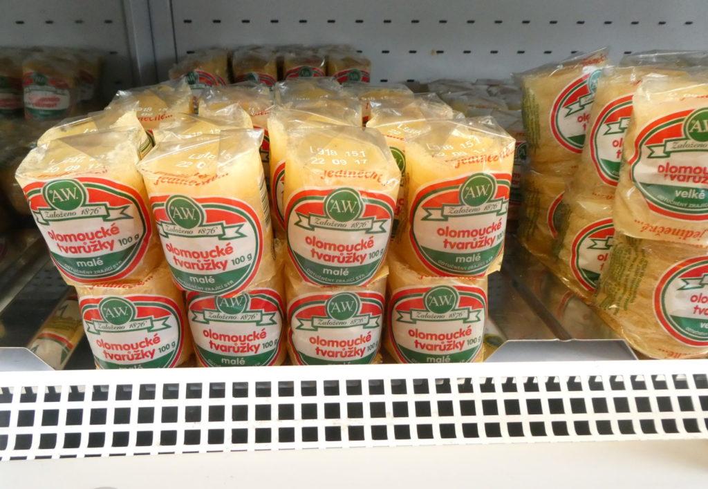 Olomouc Czech Republic - Olomoucke Tvaruzky Stinky Cheese