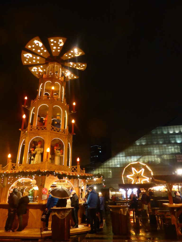 Manchester England - Christmas Market