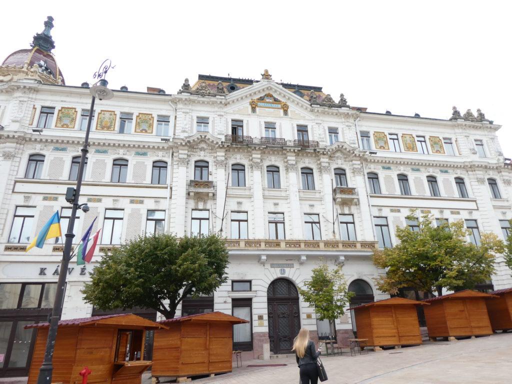 Pecs Hungary - Szechenyi Ter