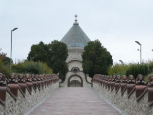 Pecs Hungary - Zsolnay Family Mausoleum