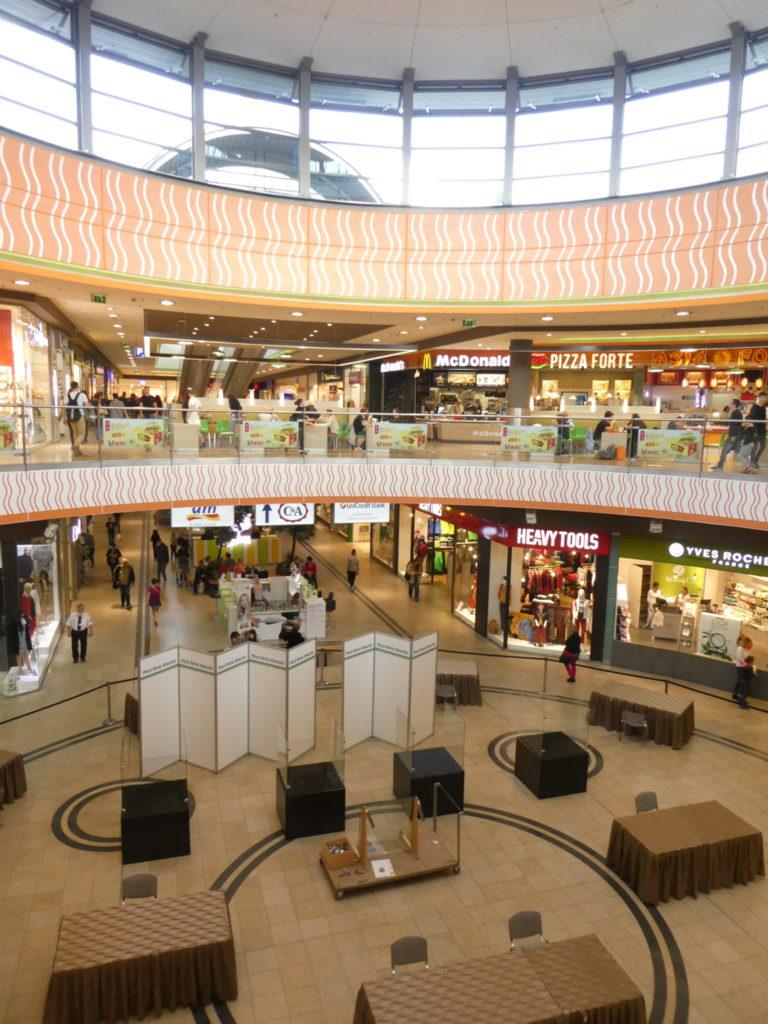 Pecs Hungary - Arkad Shopping Centre
