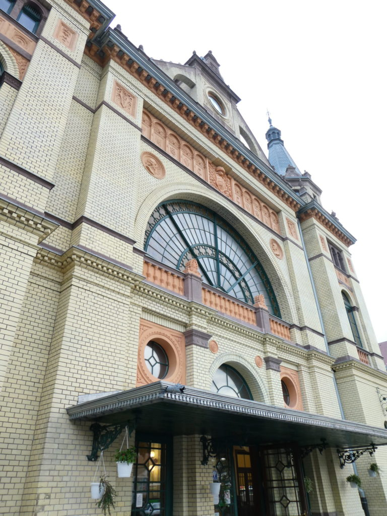 Pecs Hungary - Train Station