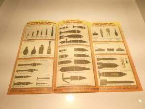 Sarajevo Leaflet on Bombs - War Childhood Museum Sarajevo
