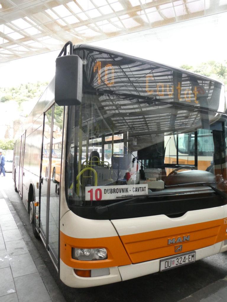 Cavtat Croatia - Bus from Dubrovnik