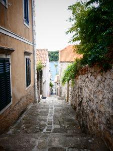 Cavtat Croatia - Back Streets