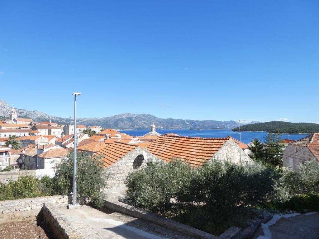 Korcula Croatia - Ante's House View
