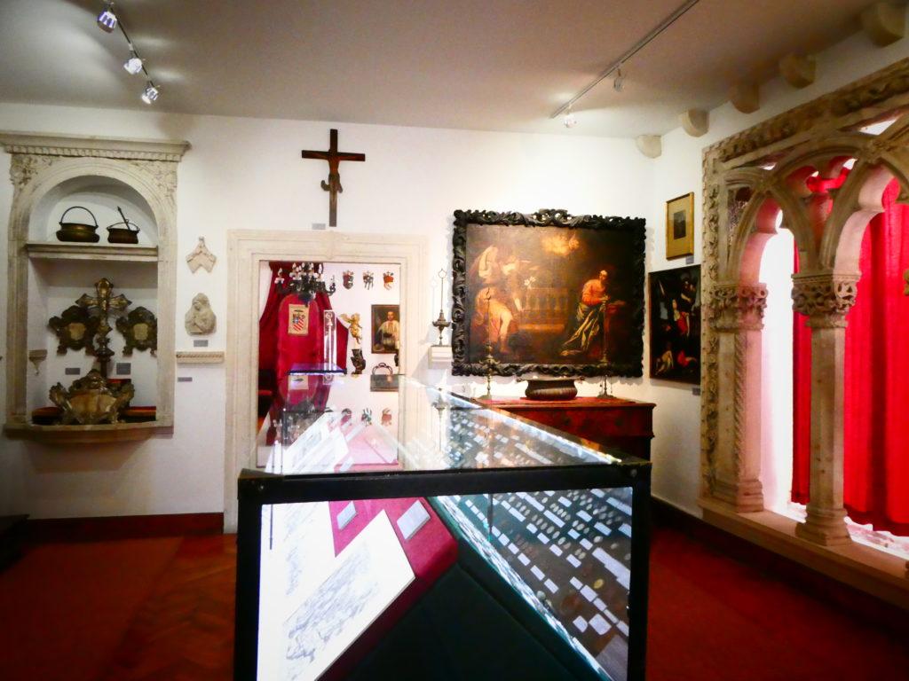 Korcula Croatia - St Mark's Treasury Abbey