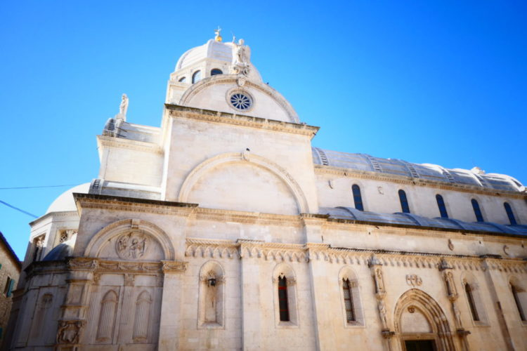 Sibenik Croatia - St James Cathedral