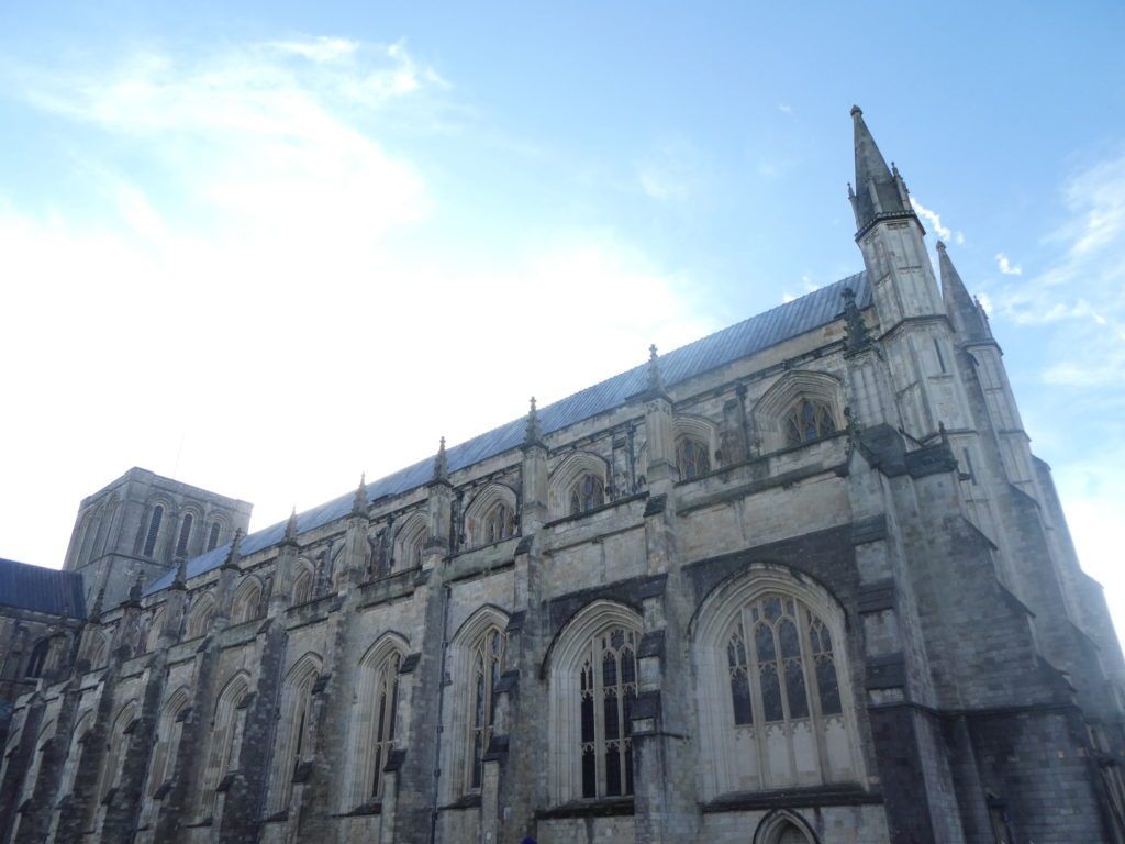 Winchester England - Winchester Cathedral
