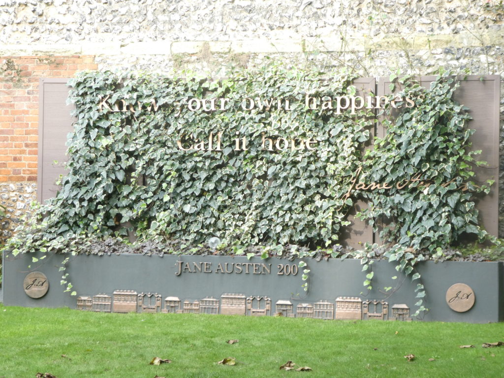 Winchester England - College Street Jane Austen House