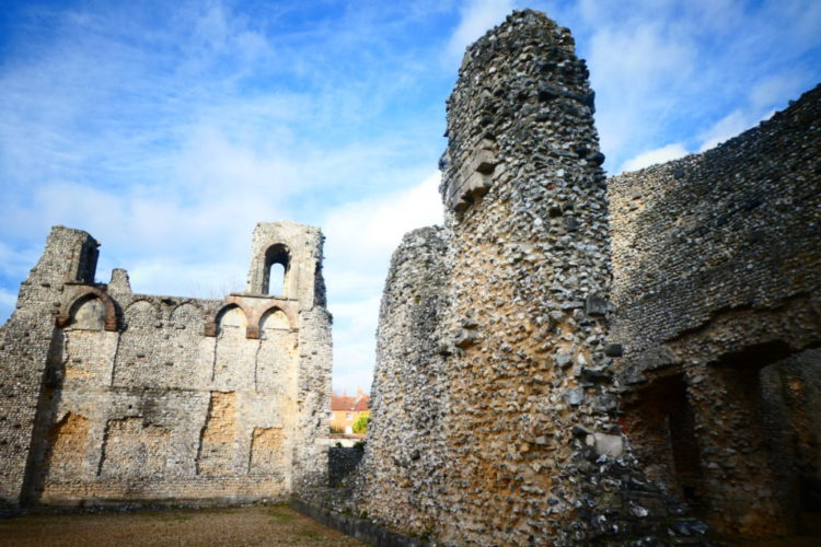 Winchester England - Wolvesey Castle