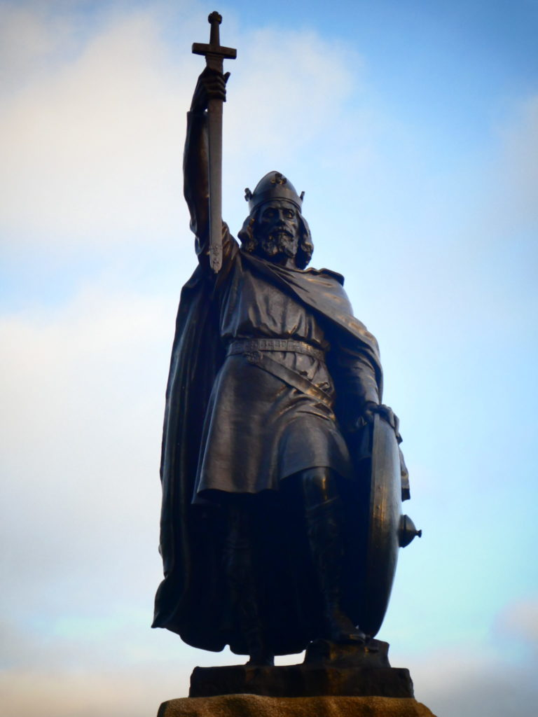 Winchester England - Statue of Alfred the Great