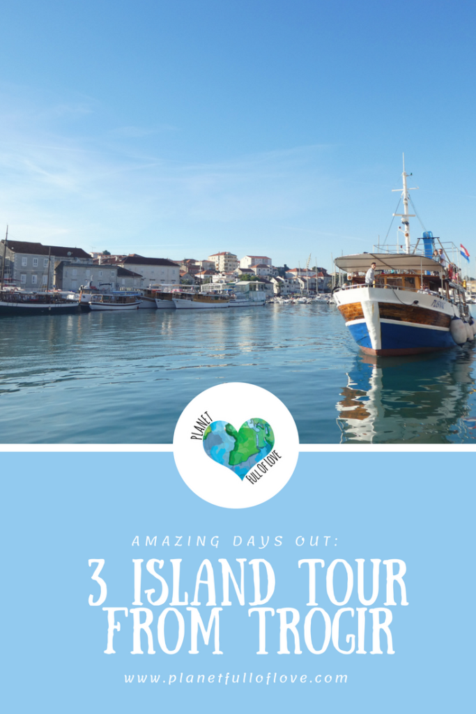 pinterest - days out, three island tour from trogir