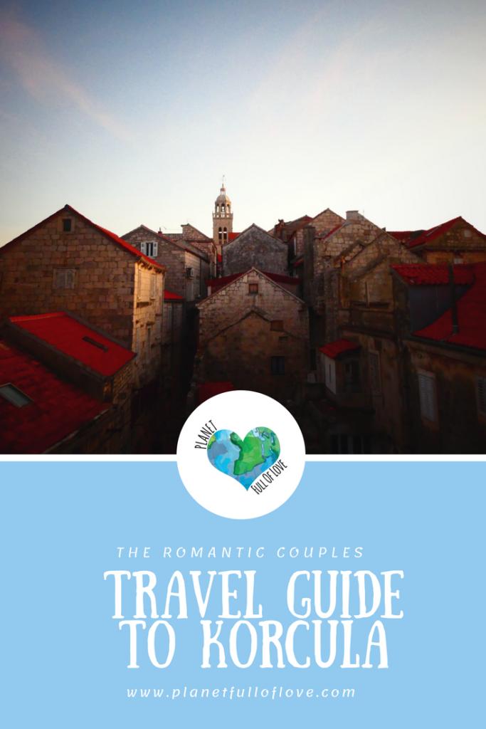 pinterest - travel guide, korcula