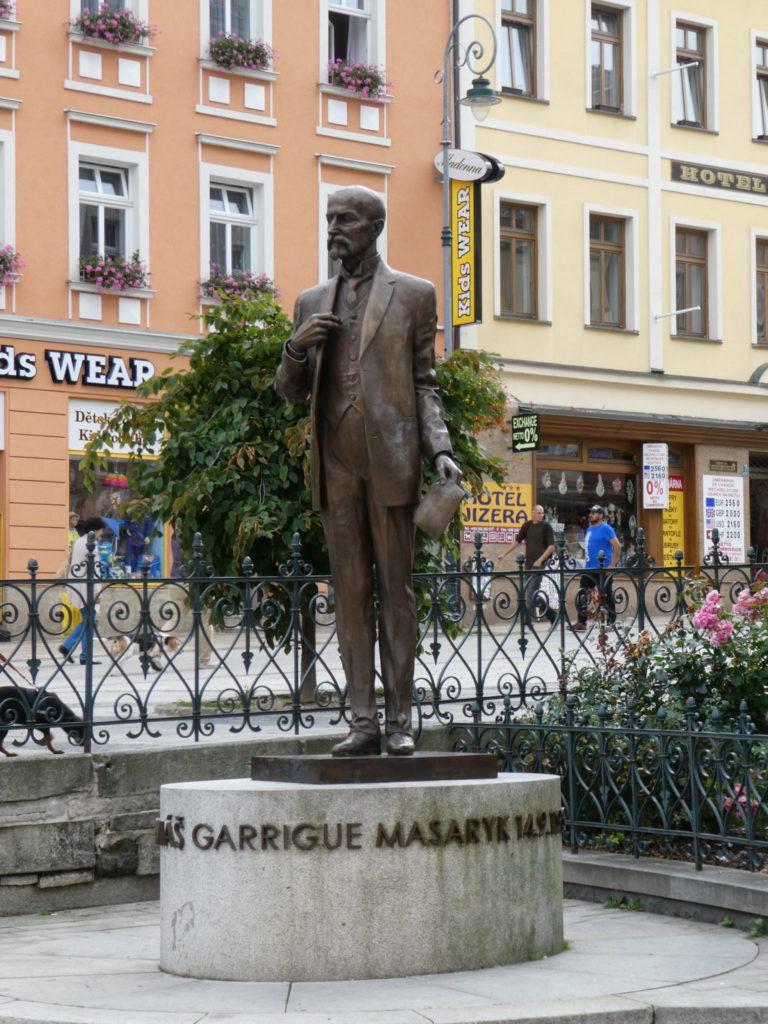 Karlovy Vary Czech Republic - T.G. Masaryk Street