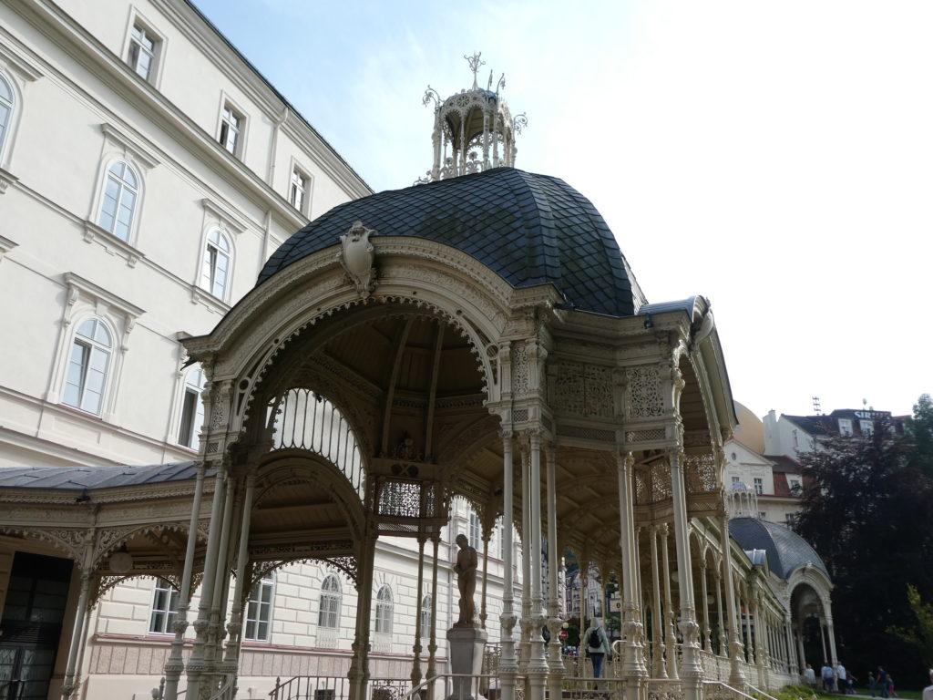 Karlovy Vary Czech Republic - Park Colonnade