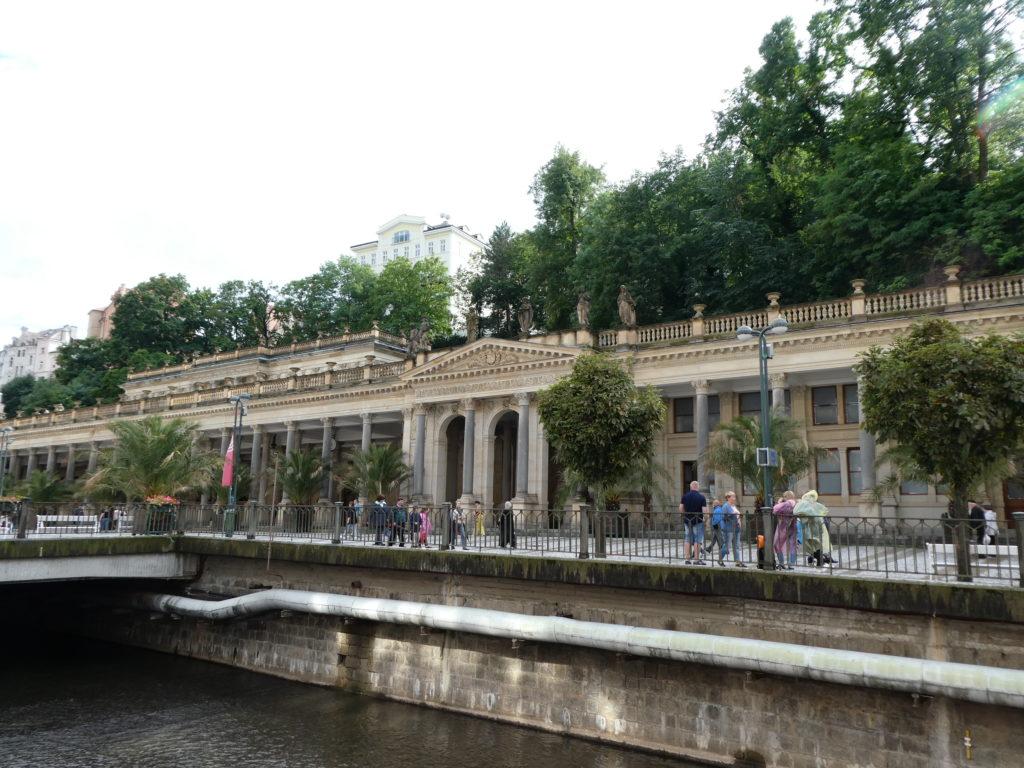 Karlovy Vary Czech Republic - Mill Colonnade