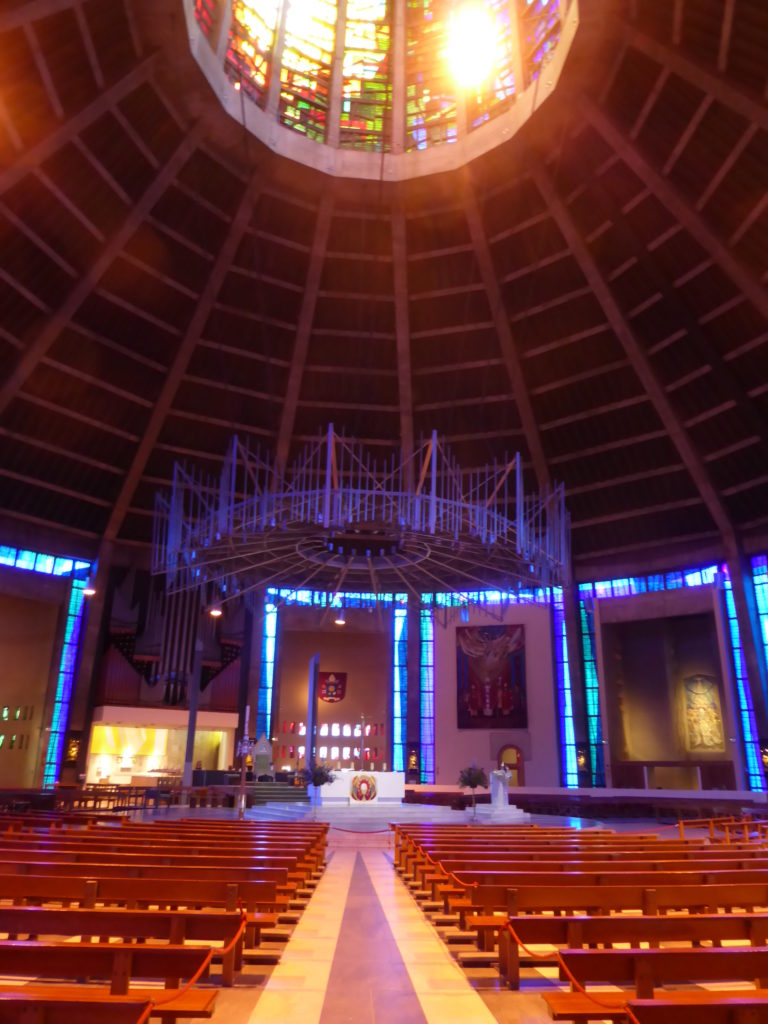 Liverpool England - Metropolitan Cathedral of Christ the King