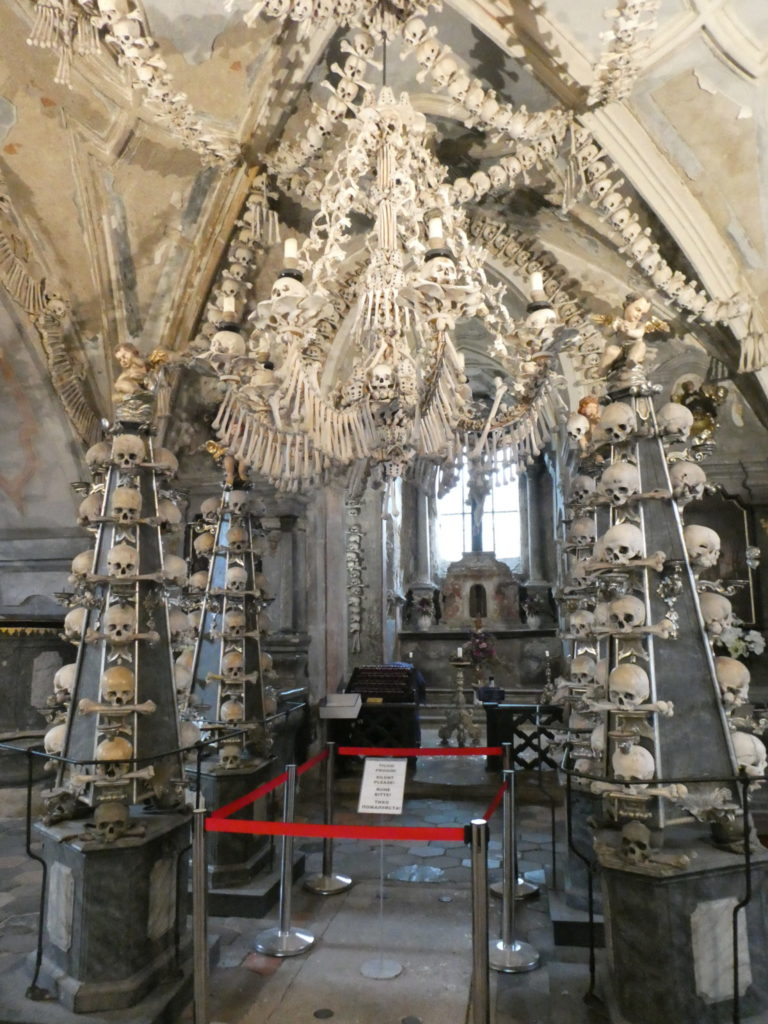 Kutna Hora Czech Republic - Sedlec Ossuary /Bone Church