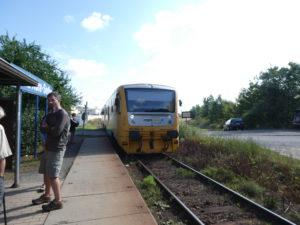 Kutna Hora Czech Republic - Local Train