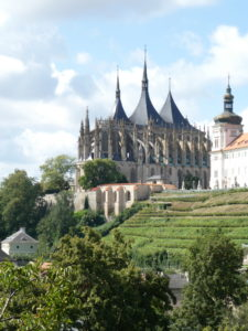 Kutna Hora Czech Republic - Cathedral of St Barbara