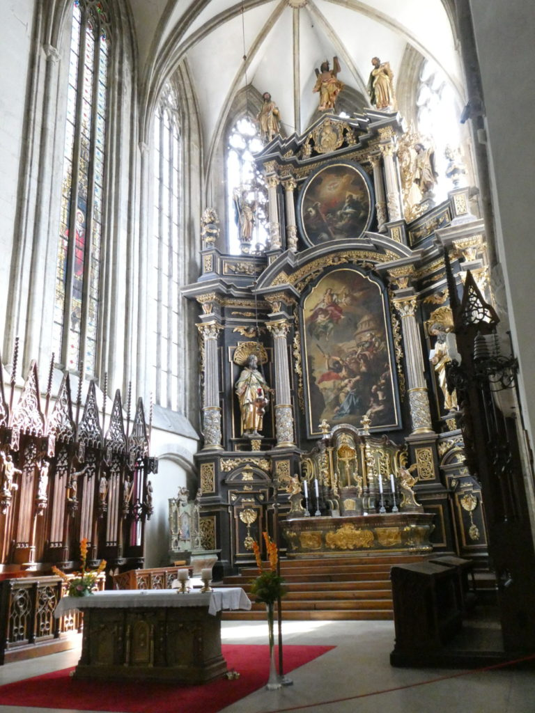 Kutna Hora Czech Republic - The Church of St James