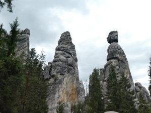 Adrspach-Teplice Rocks - Mayor and Mayoress