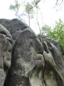 Adrspach-Teplice Rocks - The Indian