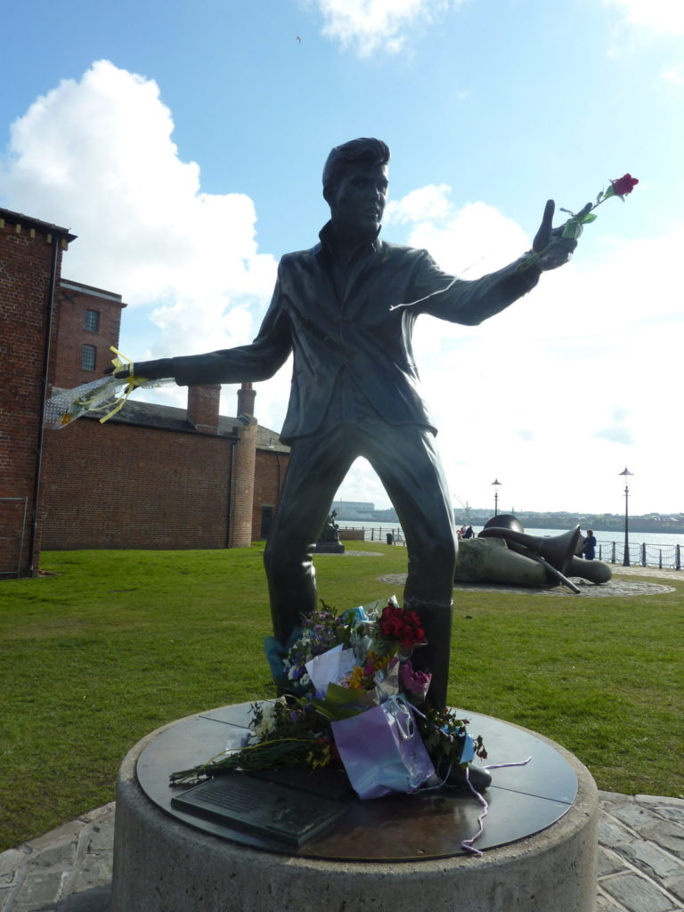 Liverpool England - Billy Fury Statue