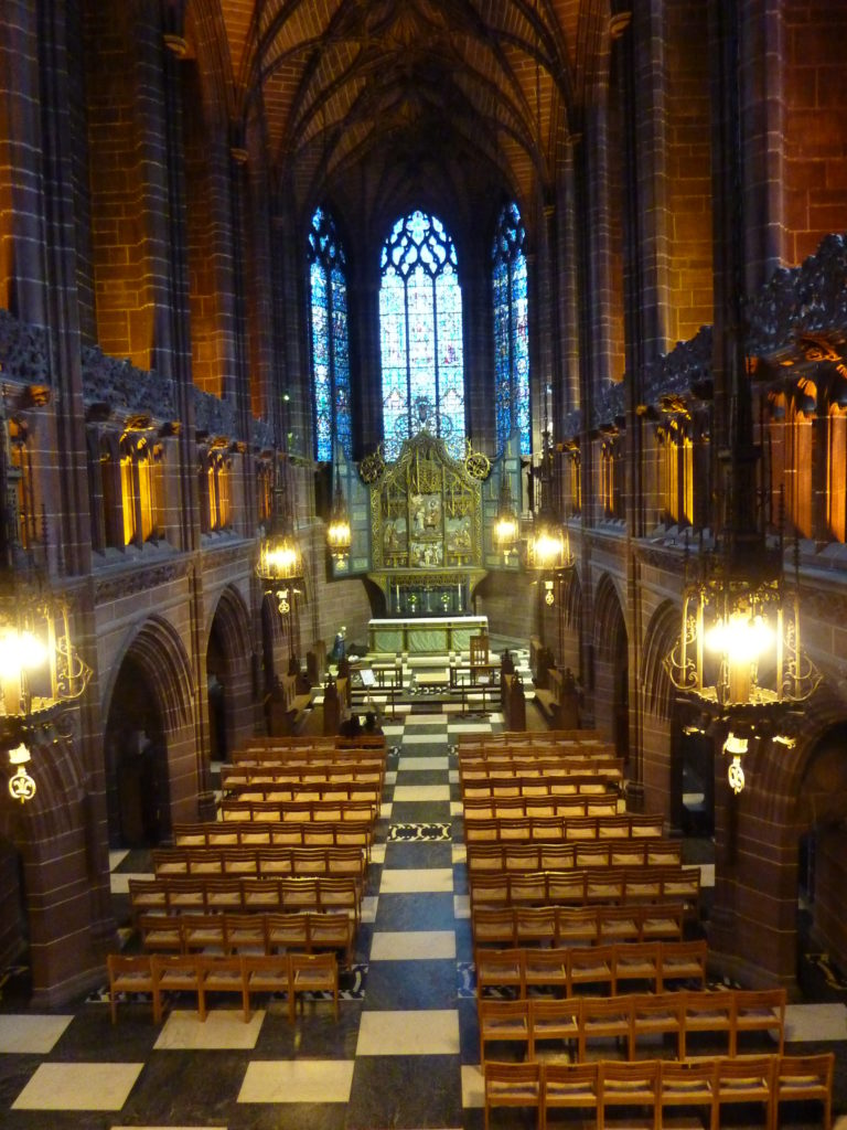 Liverpool England - Liverpool Cathedral