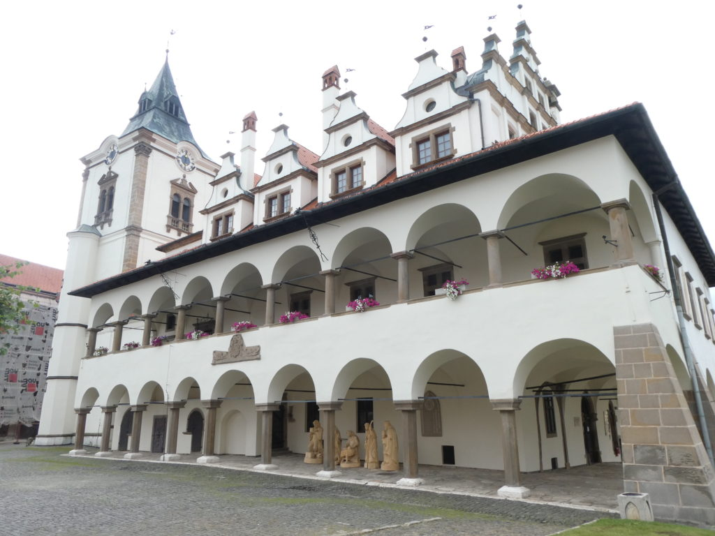 Town Hall and Master Paul Square - Levoca Slovakia