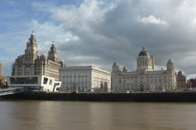 Liverpool England - Pier Head