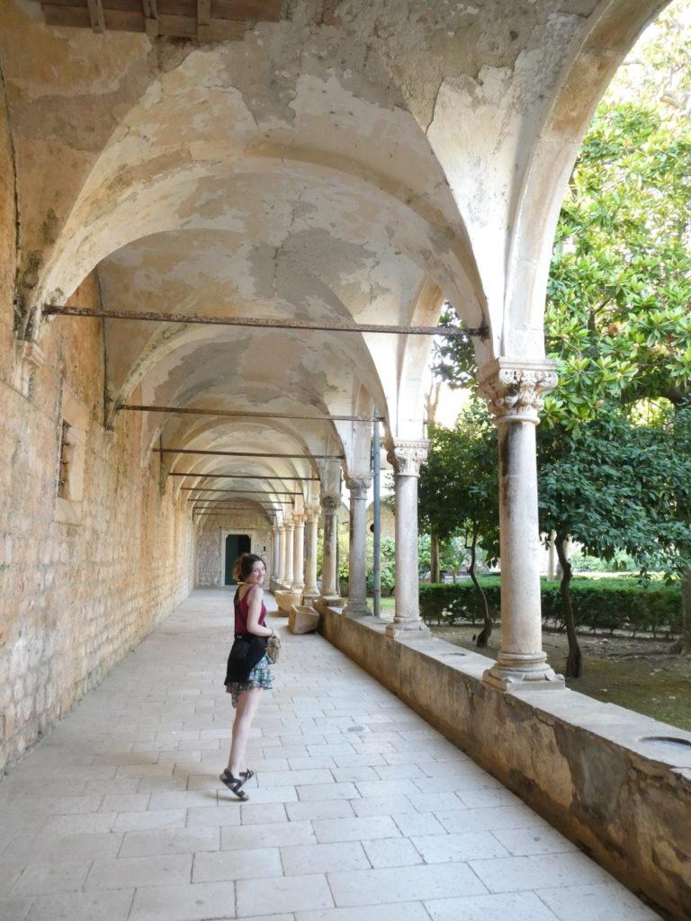 Lokrum Island Dubrovnik Croatia - Game of Thrones Monastery Cloisters