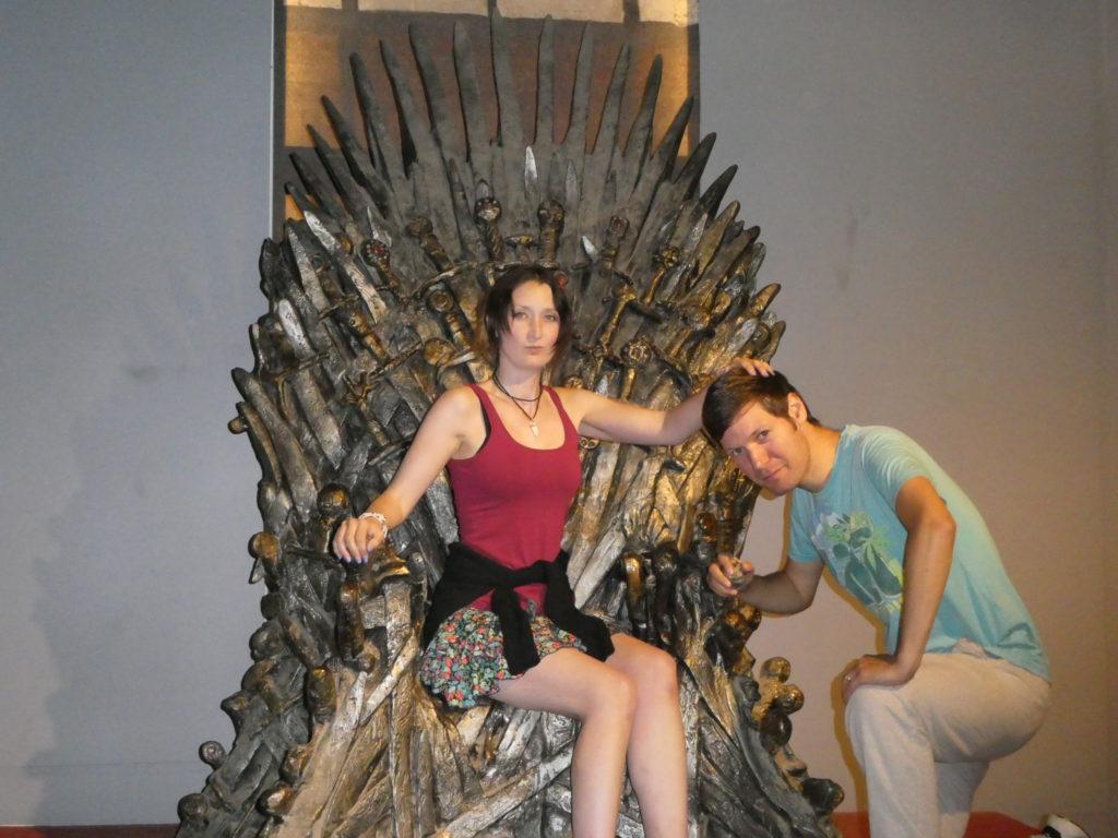 Lokrum Island Dubrovnik Croatia - Visitor Centre Game Of Thrones Chair