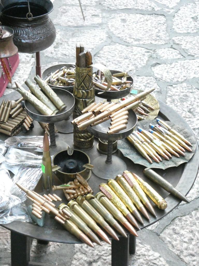 Souvenir Bullets, Bascarsija - Sarajevo, Bosnia and Herzegovina