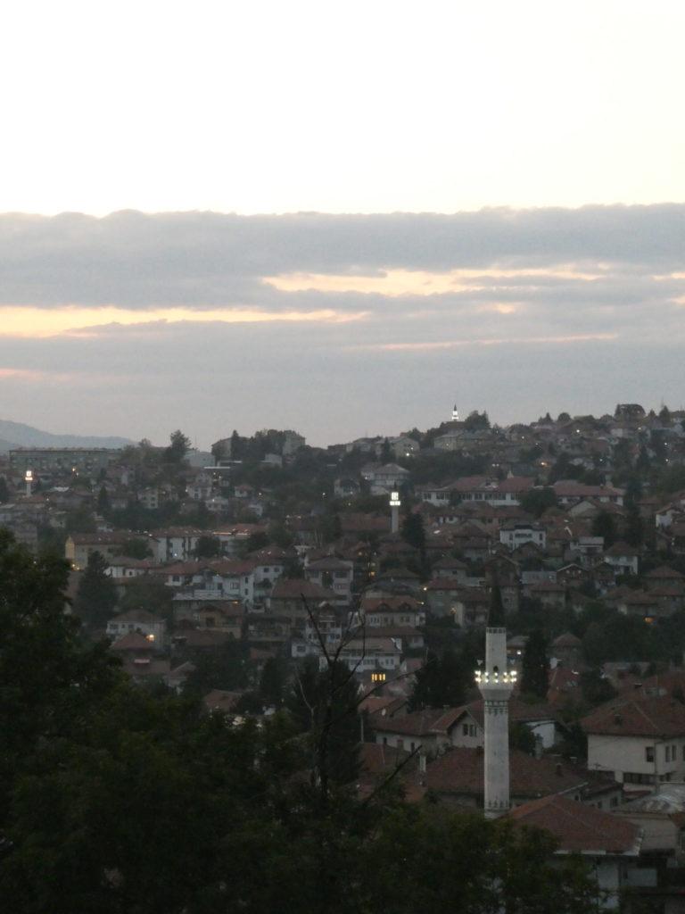 View from Yellow Fortress - Sarajevo, Bosnia and Herzegovina