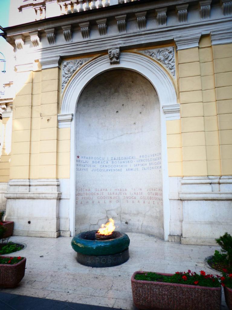 Eternal Flame - Sarajevo, Bosnia and Herzegovina